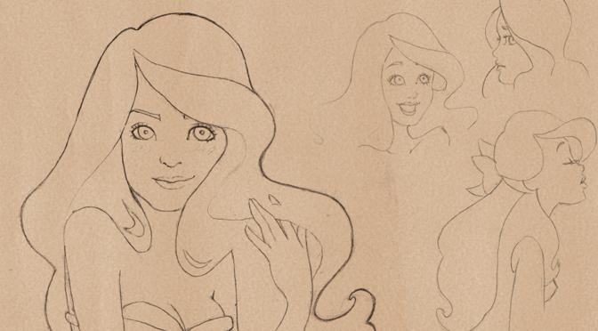 Fanart Disney – Ariel