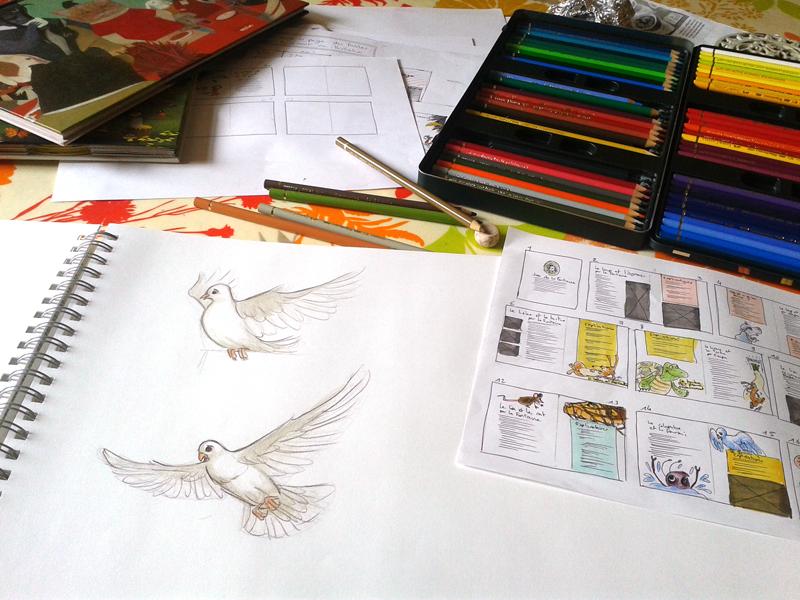 crayons dessin polychromos