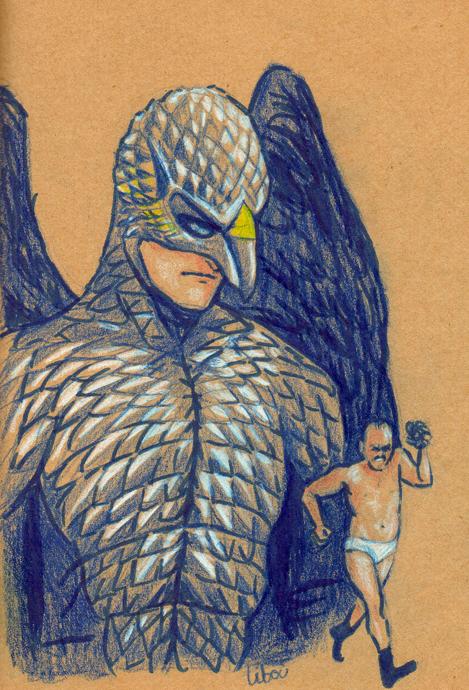 le héros Birdman et michael keaton en slip