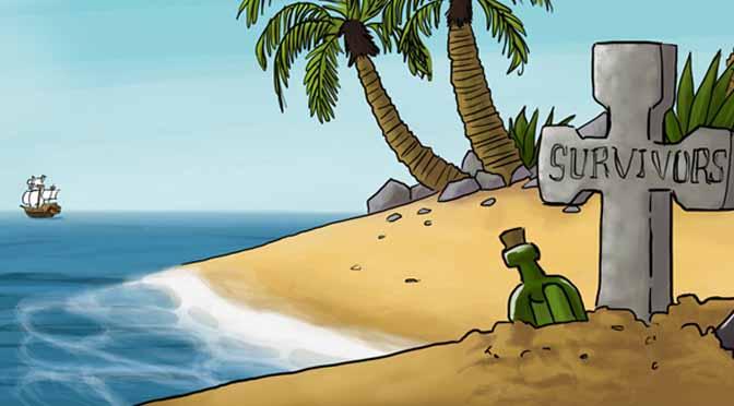 Mes illustrations pour le jeu de pirate en ligne Equipage SURVIVORS