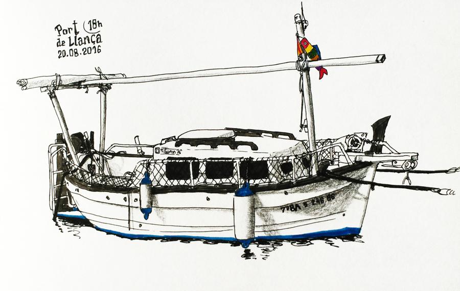 llanca-bateau-dessin-port