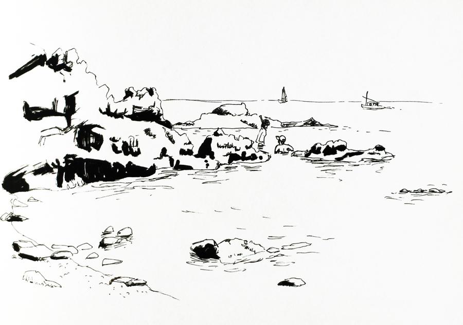 llanca-crique-dessin-rocher