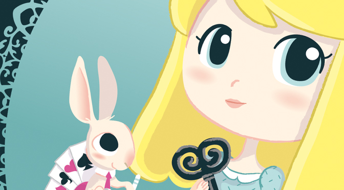 Chibi Alice in wonderland