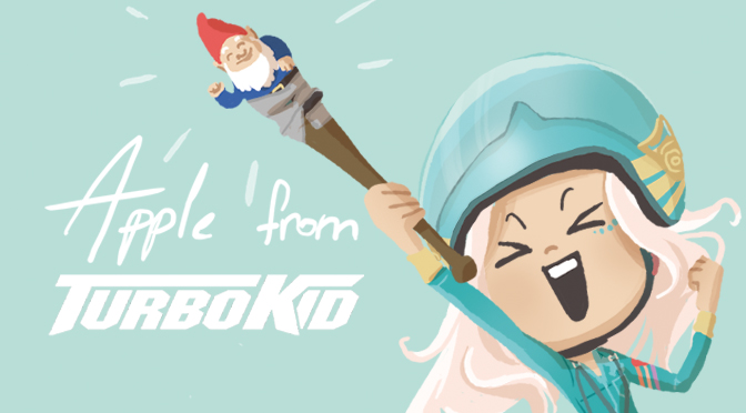 Apple : personnage déjanté du film Turbo Kid