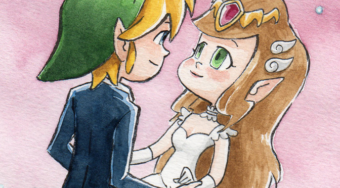Zelda & Link wedding <3