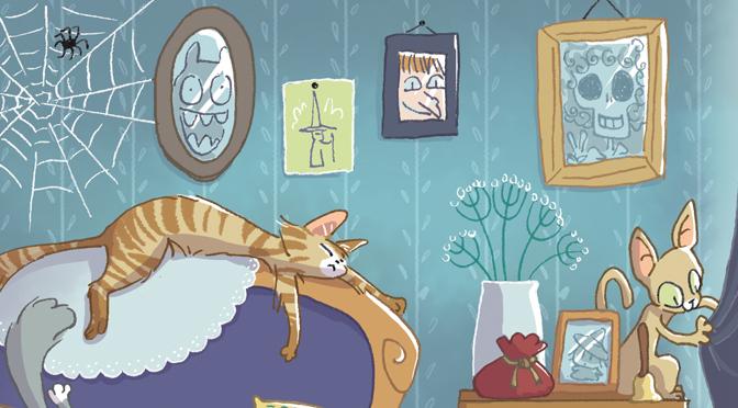 Combien de chats y a-t-il dans cette illustration ?