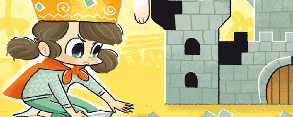 Jeu pour enfant : château à compléter