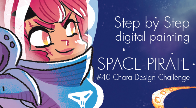 #40 Character Design Challenge : Space Pirate