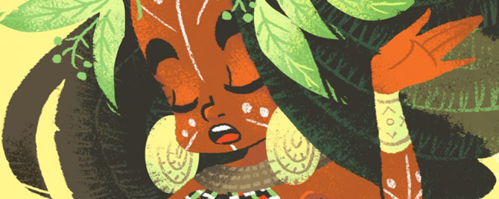 Character Design Challenge: African tribes