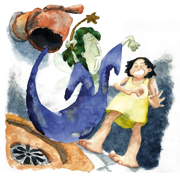 La fée du robinet – illustration 1   Libou