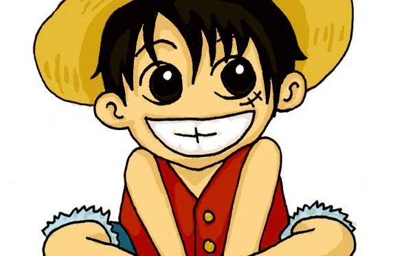 Luffy capitaine de l'équipage Mugiwara
