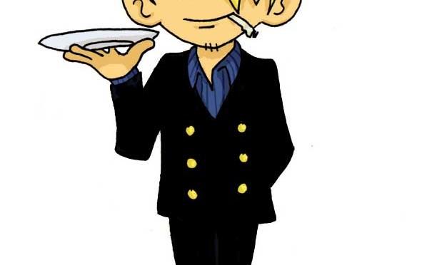 Sanji est le cuisinier de l'équipage de One Piece