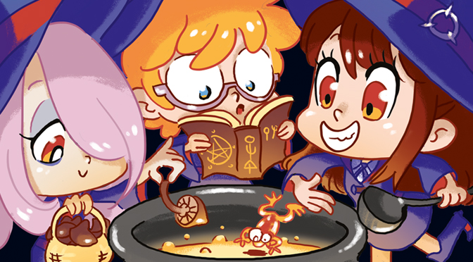Fanart Little Witch Academia