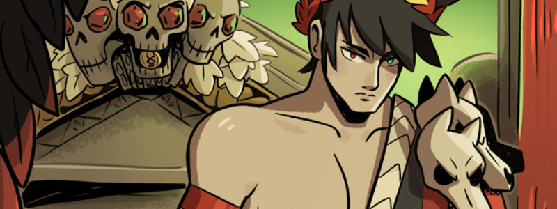 Zagreus from Hades game